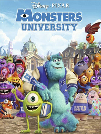 Университет монстров / Monsters University / 2013 / ДБ / HDRip